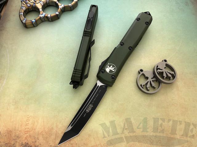 картинка Автоматический выкидной нож Microtech Ultratech T/E MT_123-1OD от магазина ma4ete