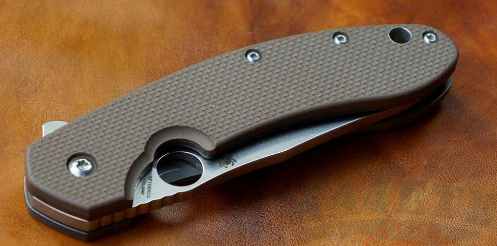 картинка Нож складной Spyderco Brad Southard Folder C156GPBN от магазина ma4ete