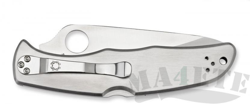 картинка Нож складной Spyderco Endura 4 Stainless Steel Handle C10P от магазина ma4ete