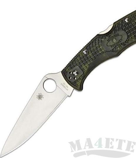картинка Нож складной Spyderco Endura 4 Zome Green FRN 10ZFPGR от магазина ma4ete