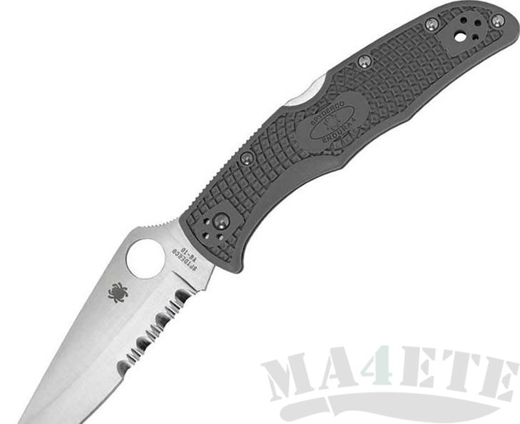 картинка Нож складной Spyderco Endura C10PSFG от магазина ma4ete