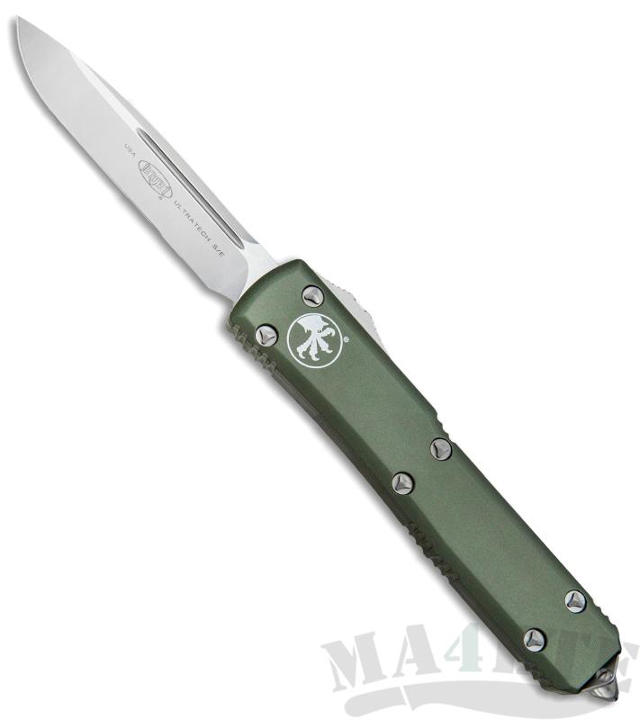 картинка Автоматический выкидной нож Microtech Ultratech S/E MT_121-4OD от магазина ma4ete