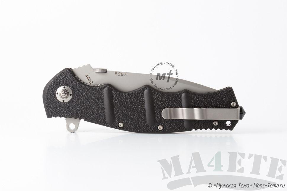 картинка Складной нож Boker Plus AK-101 Gray Plain 01KAL101 от магазина ma4ete