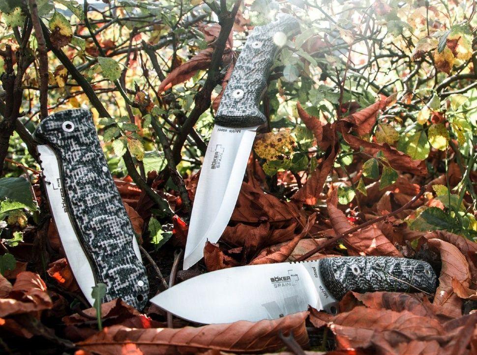 картинка Складной нож Boker Plus Spain Bushcraft Folder Granito 01BO380 от магазина ma4ete