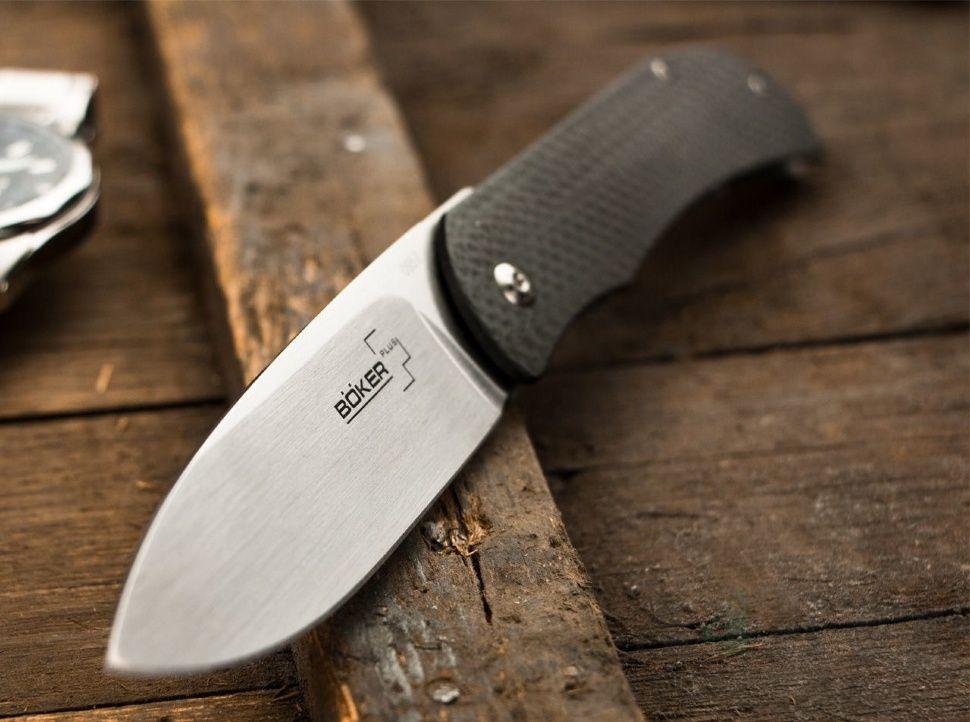 картинка Складной нож Boker Plus Exskelibur I Framelock Steel 01BO137 от магазина ma4ete