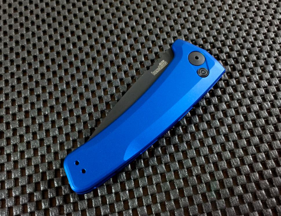картинка Складной автоматический нож Kershaw Launch 3 7300BLUBLK от магазина ma4ete