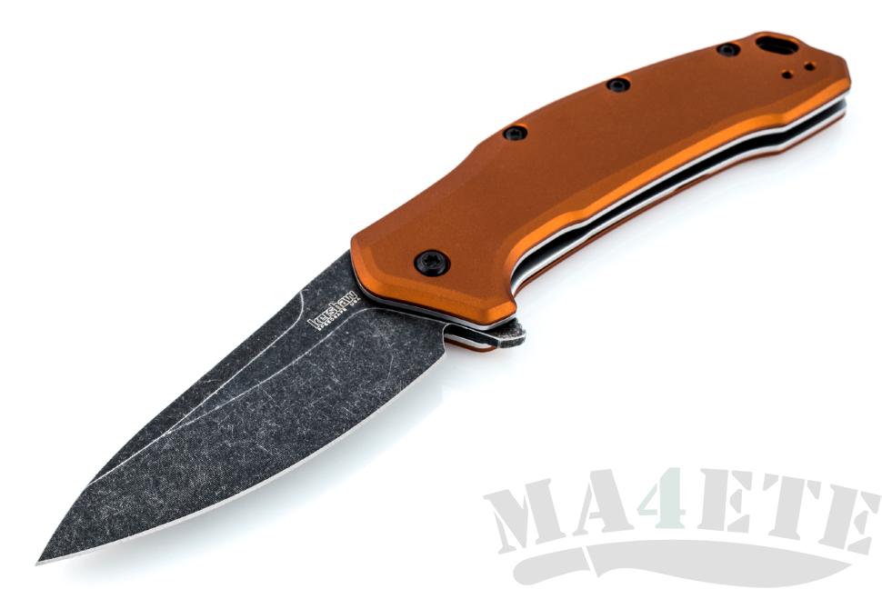 картинка Складной полуавтоматический нож Kershaw Link 1776BRZBW от магазина ma4ete