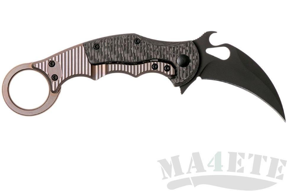 картинка Складной нож Fox Karambit Emerson Wave FX-599TiC от магазина ma4ete
