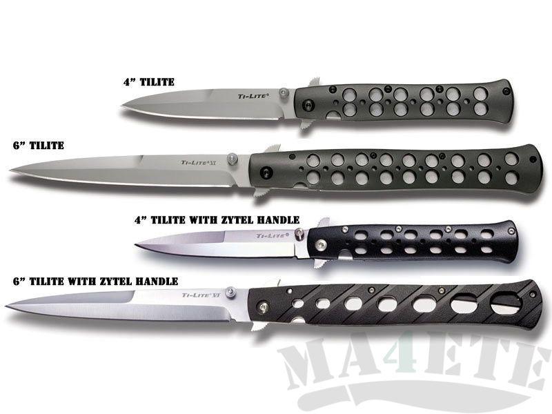 "картинка Складной нож Cold Steel 4"" Ti-Lite 26B4 от магазина ma4ete"