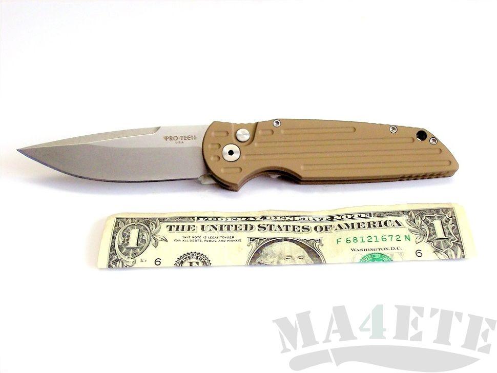 картинка Складной автоматический нож Pro-Tech TR-3 Tactical Response Desert TR-3.31SW от магазина ma4ete
