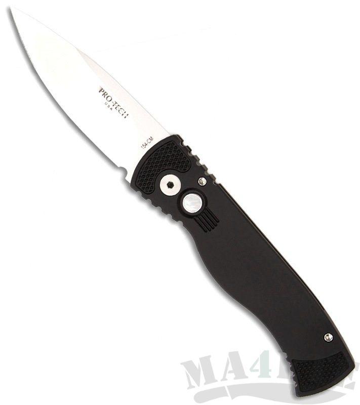картинка Складной автоматический нож Pro-Tech TR-2 Pearl Button TR-2 Ltd от магазина ma4ete