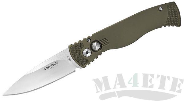 картинка Складной автоматический нож Pro-Tech TR-2 Green от магазина ma4ete