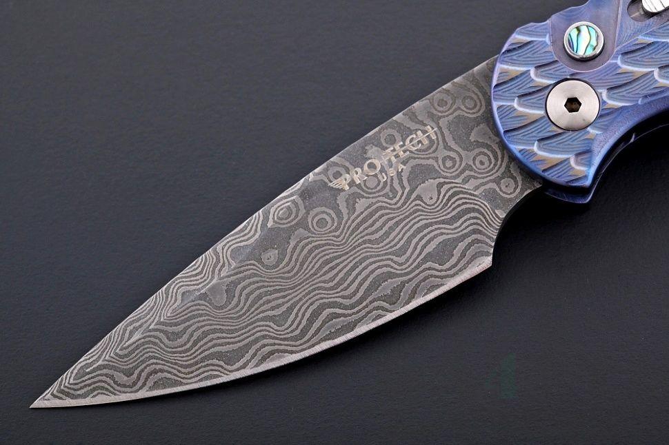 картинка Складной автоматический нож Pro-Tech TR-5 Custom T545 от магазина ma4ete