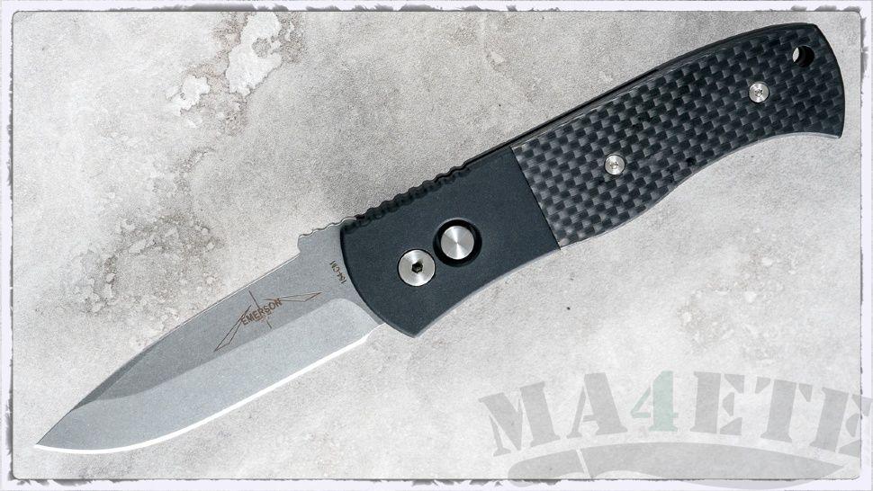 картинка Складной автоматический нож Pro-Tech Emerson CQC7A E7A34 от магазина ma4ete