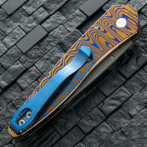 картинка Складной автоматический нож Pro-Tech Newport Custom Newport Moku-Ti от магазина ma4ete