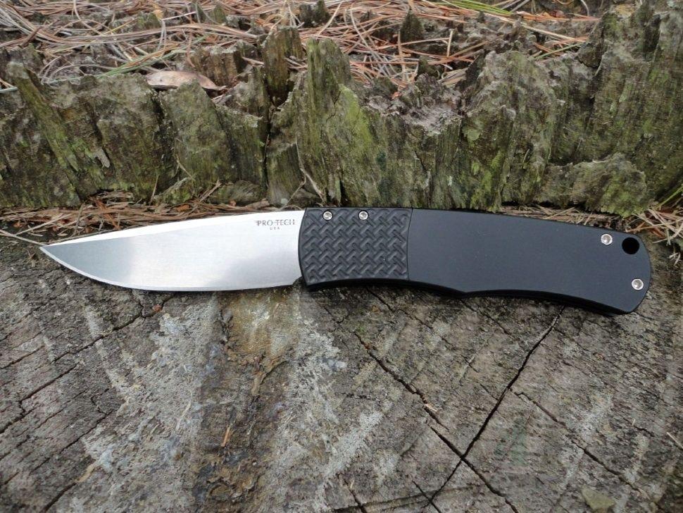 картинка Складной автоматический нож Pro-Tech Magic Whiskers BR-1.3 от магазина ma4ete