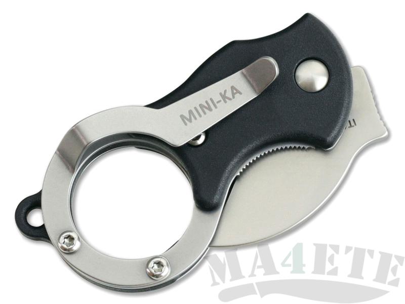 картинка Складной нож-брелок Fox Mini-KA Karambit Black 535 от магазина ma4ete
