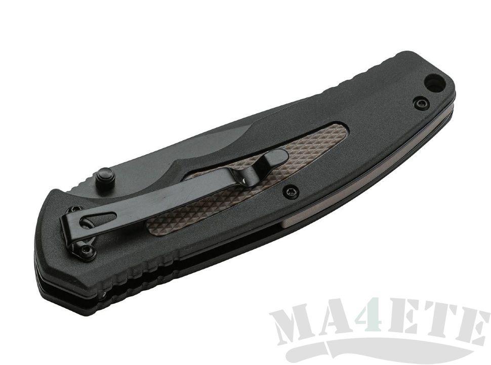 картинка Складной полуавтоматический нож Boker Plus Gemini NGA BK Coyote 01BO502 от магазина ma4ete
