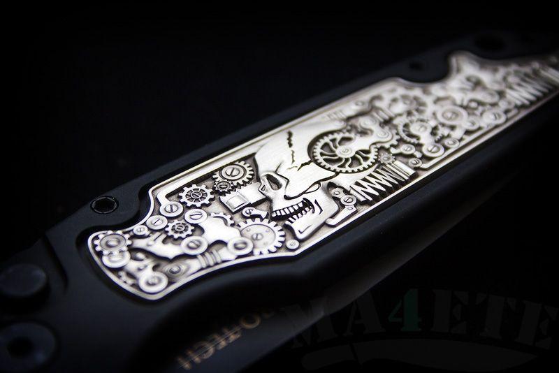 картинка Складной автоматический нож Pro-Tech TR-3 Shaw Steampunk TR-3.51 от магазина ma4ete