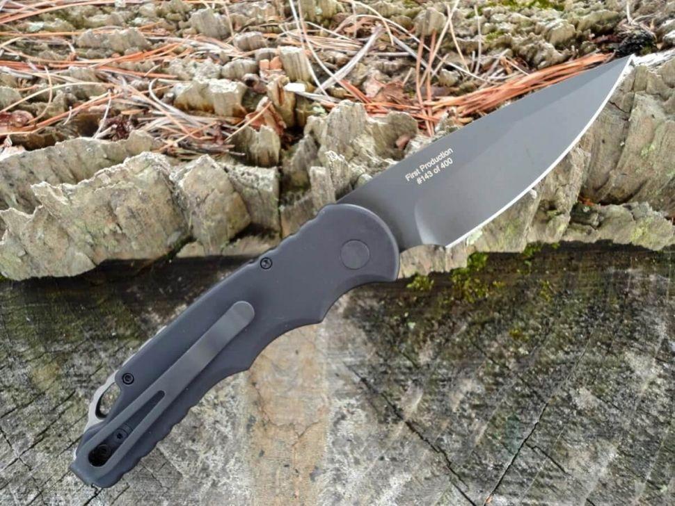 картинка Складной автоматический нож Pro-Tech TR-5 Tactical Response T503 от магазина ma4ete