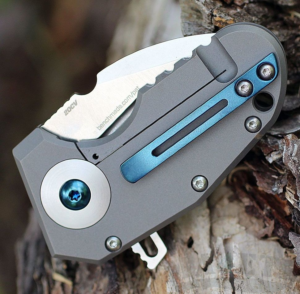 картинка Складной нож Benchmade Micro Pocket Rocket BM756 от магазина ma4ete