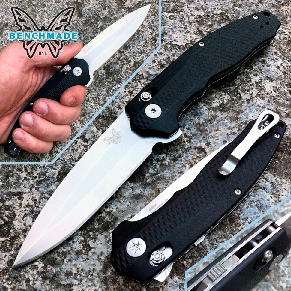 картинка Складной полуавтоматический нож Benchmade Vector 495 от магазина ma4ete