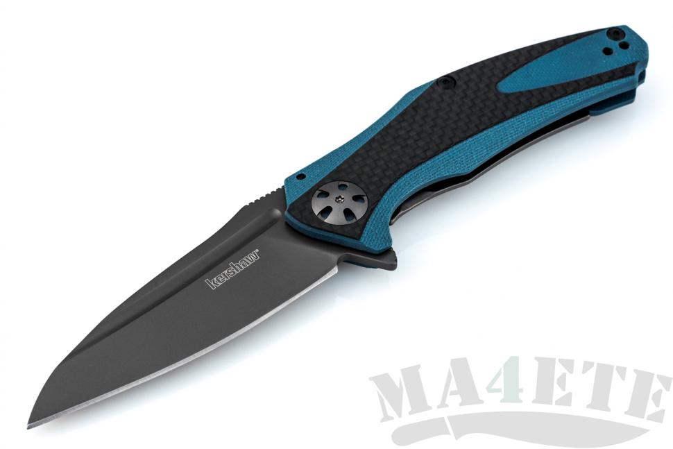 картинка Складной нож Kershaw Natrix Blue/Gray K7007CF от магазина ma4ete