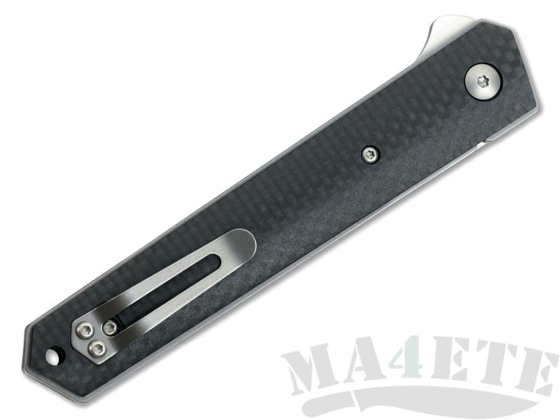 картинка Складной нож Boker Plus Kwaiken Flipper Carbon 01BO298 от магазина ma4ete