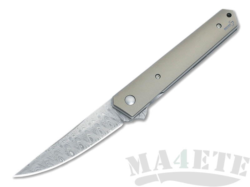 картинка Складной нож Boker Plus Kwaiken Flipper Damast 01BO297DAM от магазина ma4ete