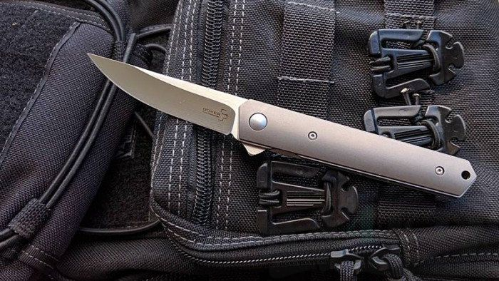 картинка Складной нож Boker Plus Kwaiken Mini Flipper Titan 01BO290 от магазина ma4ete