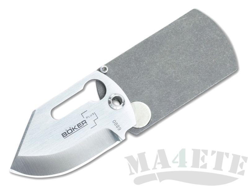 картинка Складной нож Boker Plus Kubasek KTK Dog Tag Knife Titanium 01BO210 от магазина ma4ete