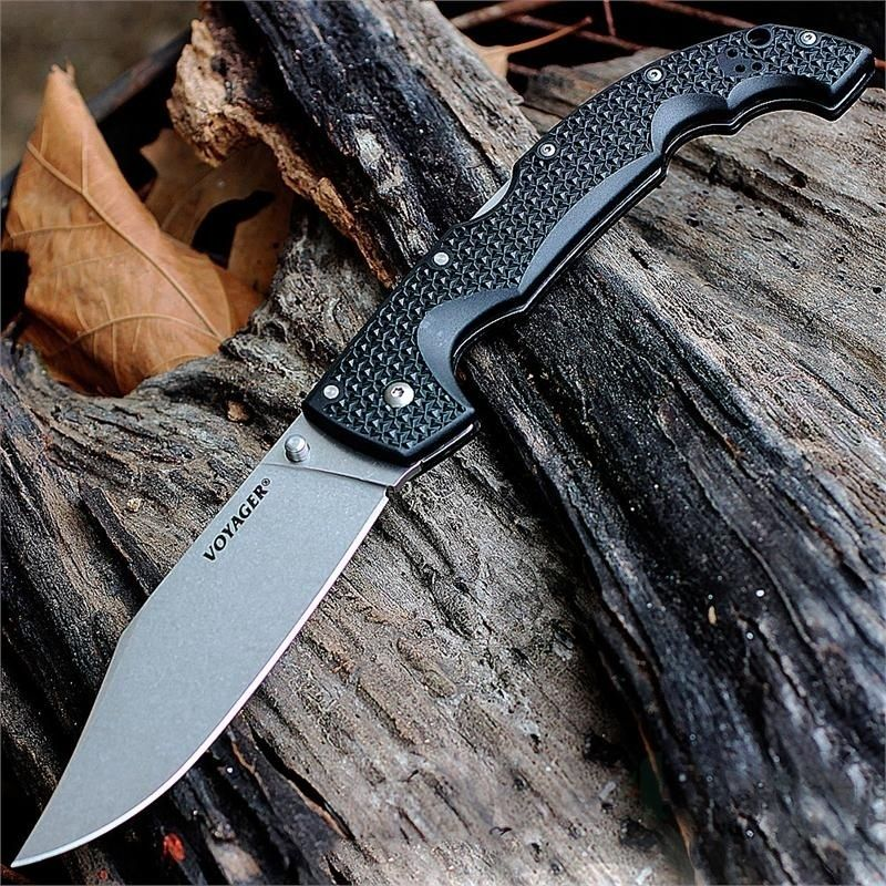 картинка Складной нож Cold Steel Voyager XL Clip Aus 10A 29AXC от магазина ma4ete