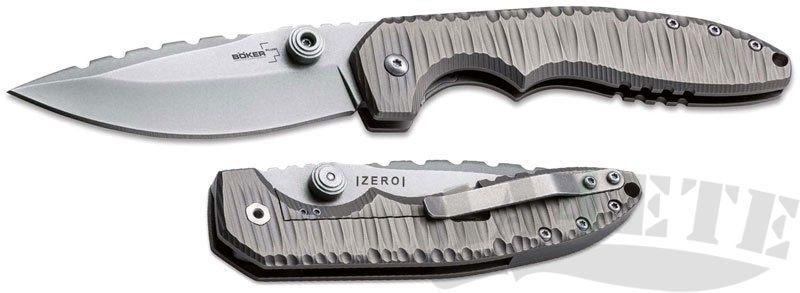 картинка Складной нож Boker Plus Sulaco Titanium 01BO034 от магазина ma4ete