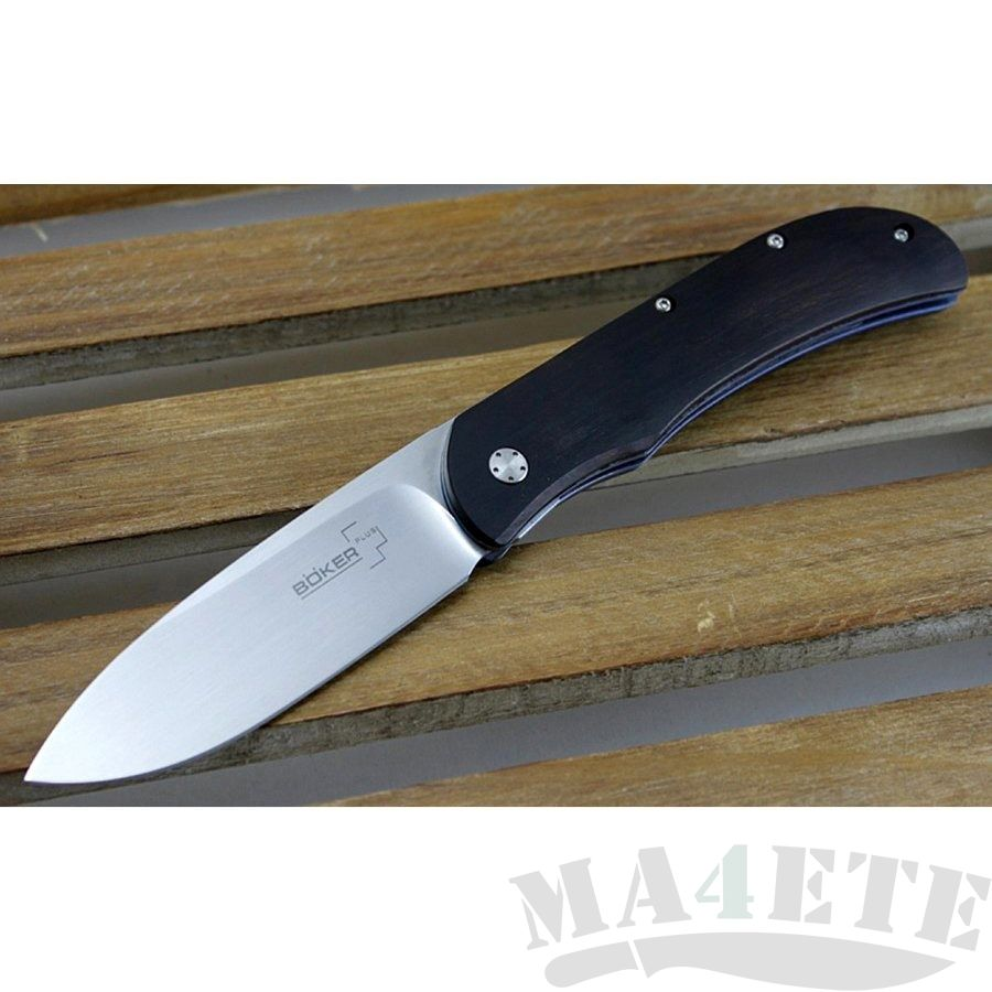 картинка Складной нож Boker Plus Exskelibur I Ebony 01BO012 от магазина ma4ete