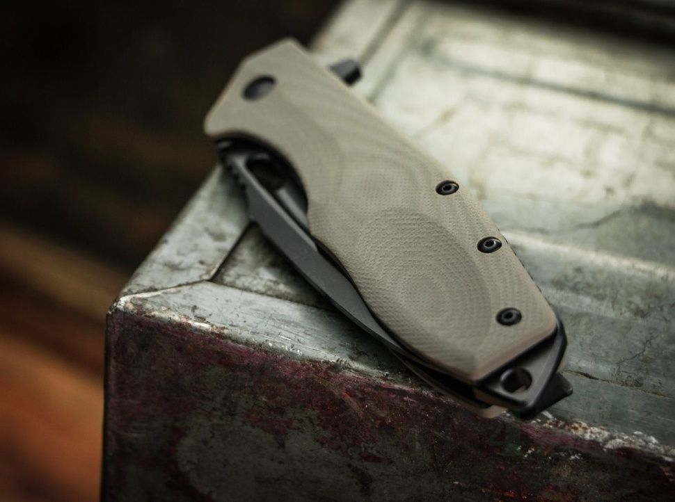 картинка Складной нож Boker Plus Caracal Folder Tactical 01BO759 от магазина ma4ete