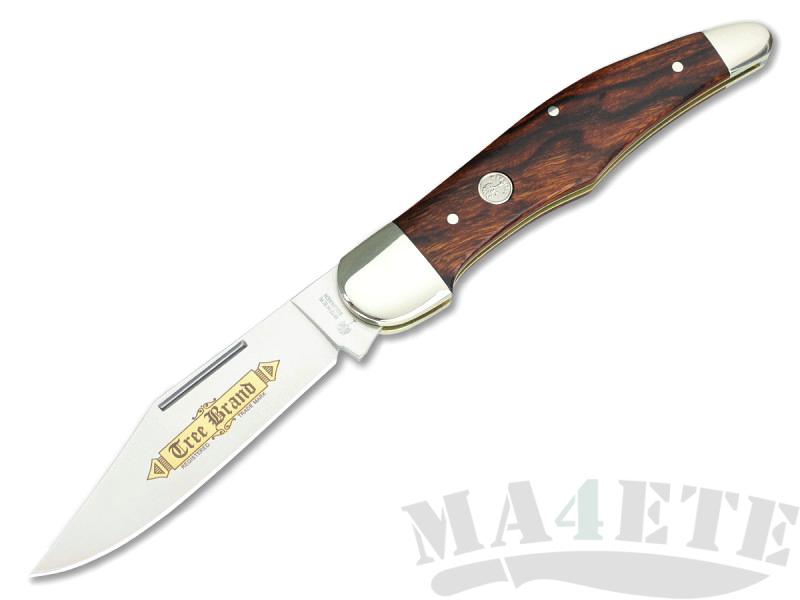 картинка Складной нож Boker Hunters Knife Classic Gold Desert Ironwood 114014 от магазина ma4ete