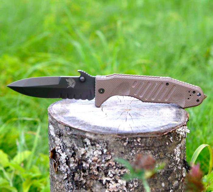 картинка Складной нож Fox Col Moschin Delta Spec Ops SOK09CM01E 5.00 1 от магазина ma4ete
