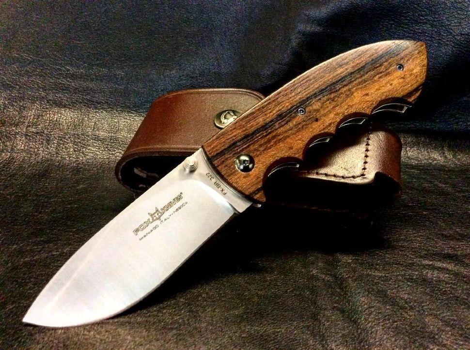 картинка Складной нож Fox Hunting Design by Kommer BR322 от магазина ma4ete