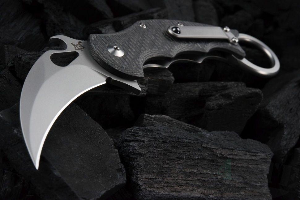 картинка Складной нож Fox Karambit Emerson Wave FX-599TiCS от магазина ma4ete