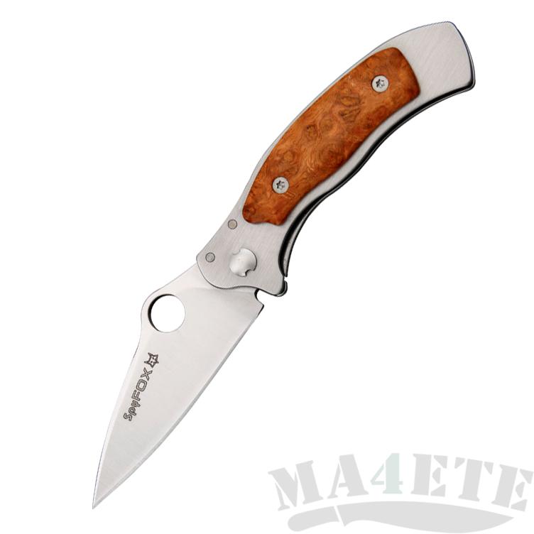 картинка Складной нож Fox Mini Spy Amboina Wood SPY2RA от магазина ma4ete