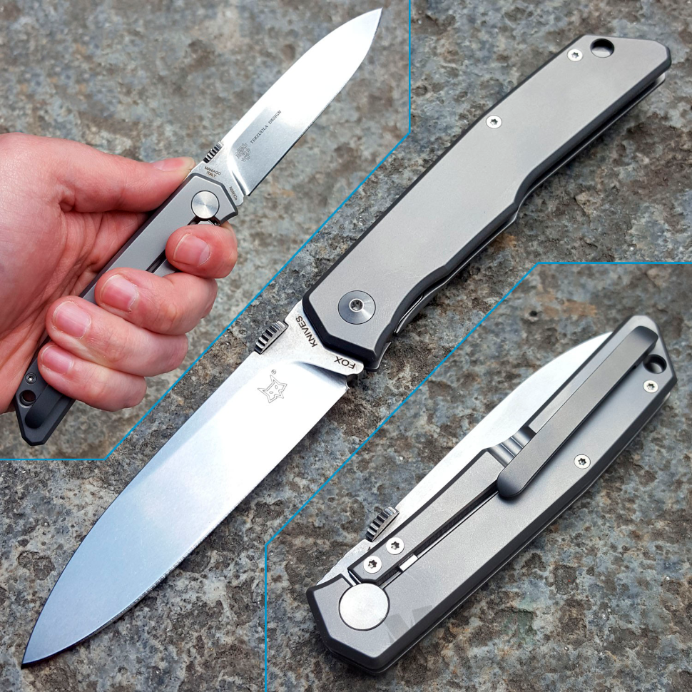 картинка Складной нож Fox Terzuola Titanium 525Ti от магазина ma4ete