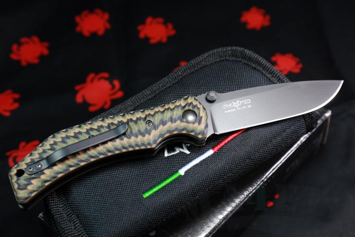 картинка Складной нож Fox Extreme Elite Design by Wilson Combat Multicolor 121MC от магазина ma4ete