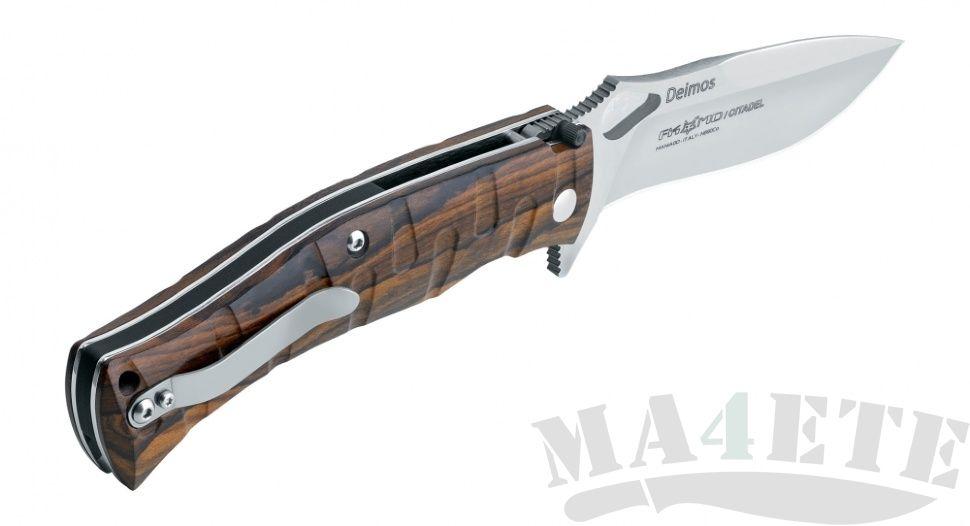 картинка Складной нож Fox Citadel Deimos Ziricote Wood 0110W от магазина ma4ete