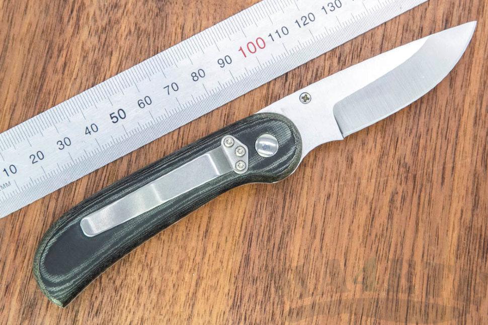 картинка Складной нож Fox Forest Micarta 494M от магазина ma4ete