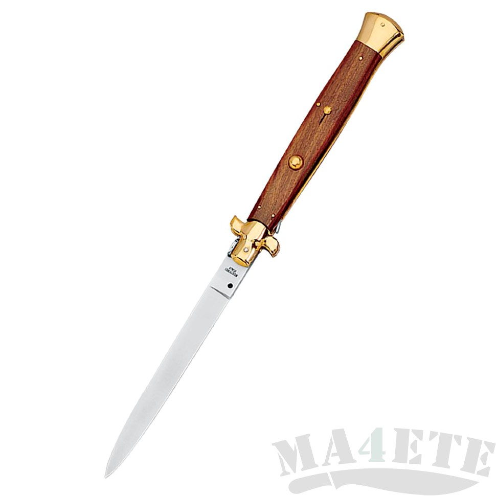 картинка Складной автоматический нож Fox Traditional Italian Stiletto Palissander Wood 250/20PO от магазина ma4ete