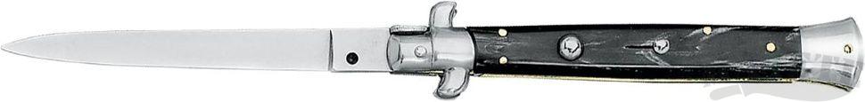 картинка Складной автоматический нож Fox Traditional Italian Stiletto, Cow Horn 250/20CR от магазина ma4ete