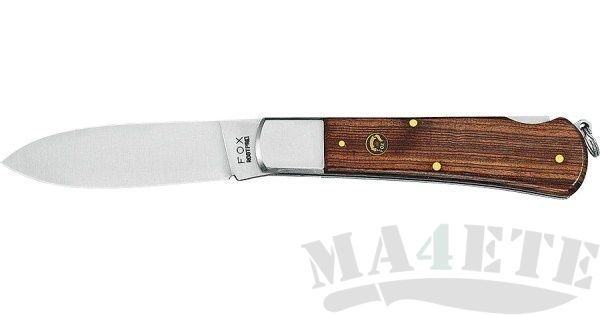 картинка Складной нож Fox Hunting Palissander Wood 210P от магазина ma4ete