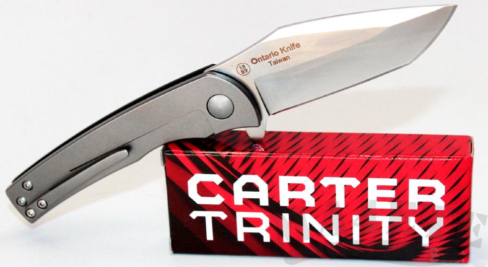 картинка Складной нож Ontario Carter Trinity 8877 от магазина ma4ete