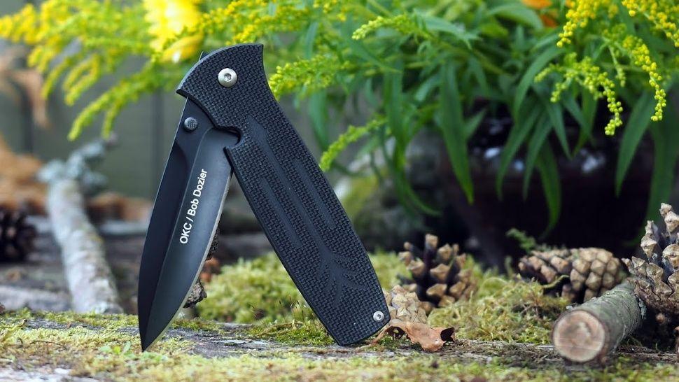 картинка Складной нож Ontario OKC Dozier Arrow Black 9101 от магазина ma4ete