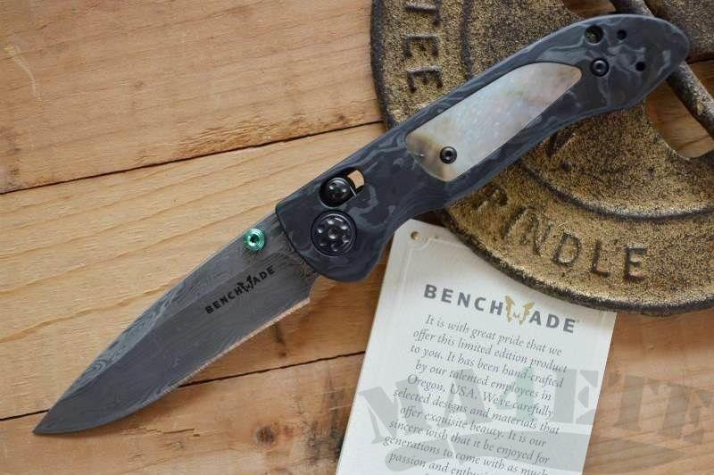 картинка Складной нож Benchmade Foray Gold Class BM698-181 от магазина ma4ete